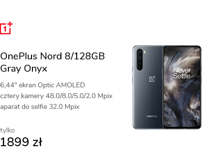 OnePlus Nord 8/128GB Gray Onyx