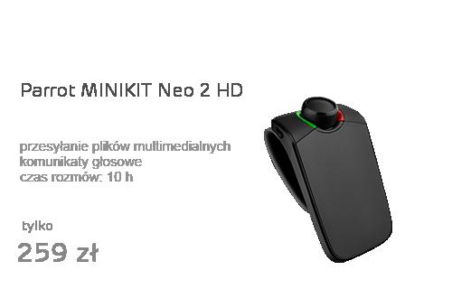 Parrot MINIKIT Neo 2 HD czarny