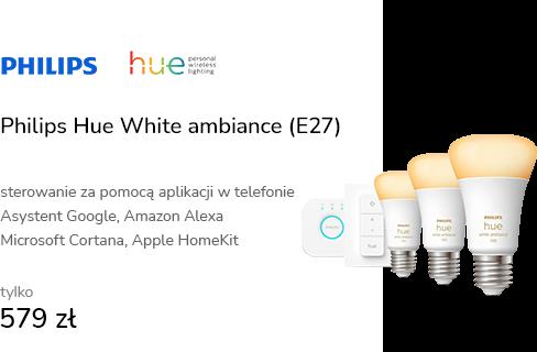 Philips Hue White ambiance Zestaw startowy 3xE27