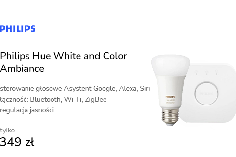 Philips Hue White and Color Ambiance (2szt. E27+Mo
