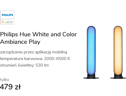 Philips Hue White and Color Ambiance Play (2szt. c