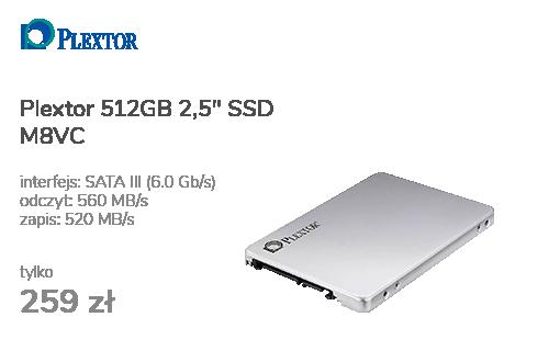 """Plextor 512GB 2,5"""" SATA SSD M8VC"""