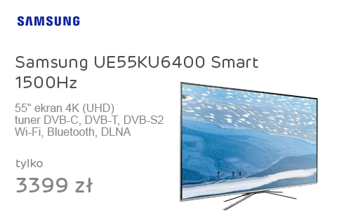 Samsung UE55KU6400 Smart 1500Hz