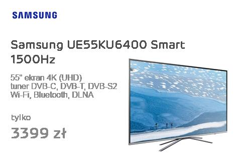 Samsung UE55KU6400 Smart 1500Hz