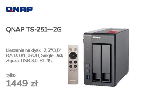 QNAP TS-251+-2G (2xHDD, 4x2-2.42GHz, 2GB, 4xUSB, 2xLAN)