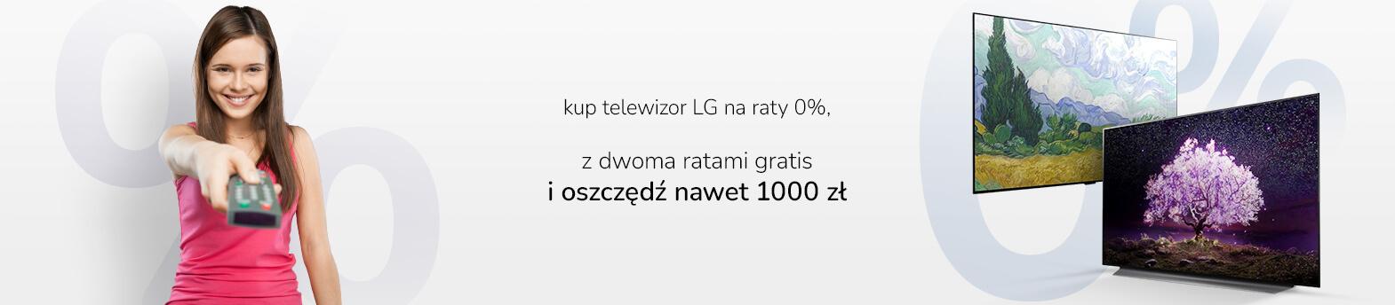 raty 0% TV LG