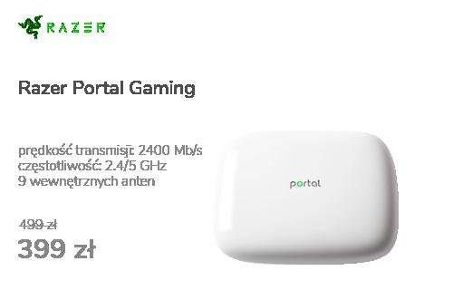 Razer Portal Gaming (2400Mb/s a/b/g/n/ac, 2xUSB)