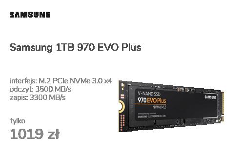 Samsung 1TB 970 EVO Plus M.2 2280 NVMe
