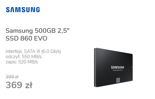 "Samsung 500GB 2,5"" SATA SSD 860 EVO"