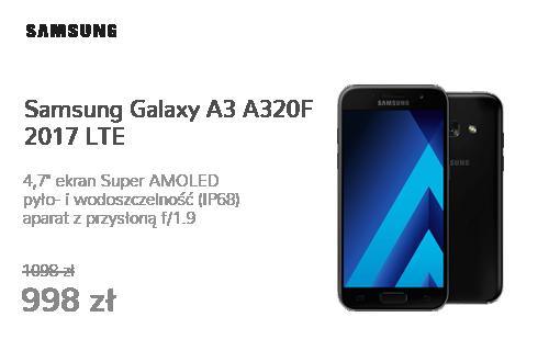 Samsung Galaxy A3 A320F 2017 LTE Black Sky