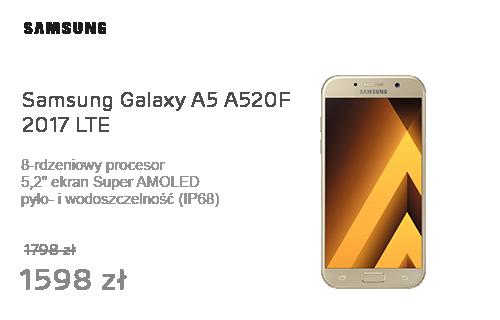 Samsung Galaxy A5 A520F 2017 LTE Gold Sand