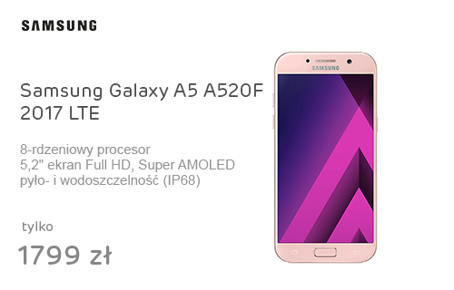 Samsung Galaxy A5 A520F 2017 LTE Peach Cloud