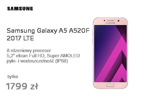 Samsung Galaxy A5 A520F 2017 LTE Peach Cloud