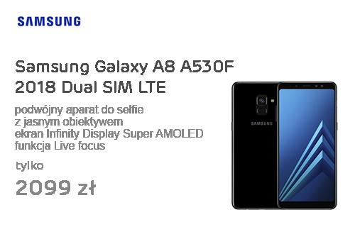 Samsung Galaxy A8 A530F 2018 Dual SIM LTE Black