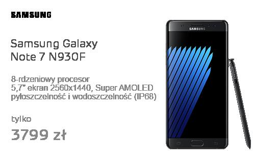 Samsung Galaxy Note 7 N930F czarny