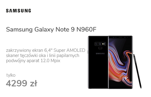 Samsung Galaxy Note 9 N960F Dual SIM Midnight Black