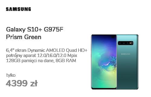 Samsung Galaxy S10+ G975F Prism Green