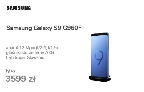 Samsung Galaxy S9 G960F Dual SIM Coral Blue