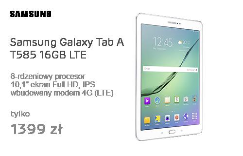 Samsung Galaxy Tab A 10.1 (2016) T585 16GB Biały FHD LTE