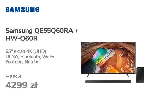 Samsung QE55Q60RA + HW-Q60R