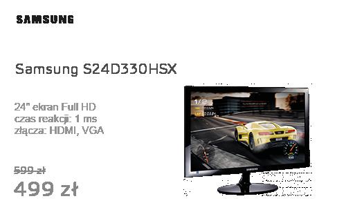 Samsung S24D330HSX czarny