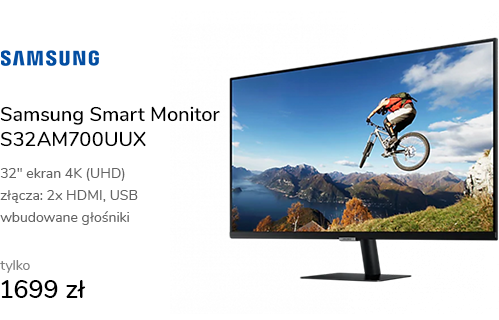 Samsung Smart Monitor S32AM700UUX 4K