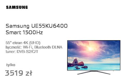 Samsung UE55KU6400 Smart 4K 1500Hz WiFi 3xHDMI USB