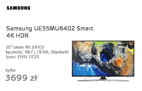 Samsung UE55MU6402 Smart 4K HDR 3xHDMI DVB-T/C/S