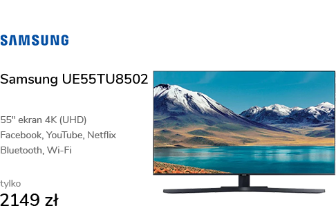 Samsung UE55TU8502