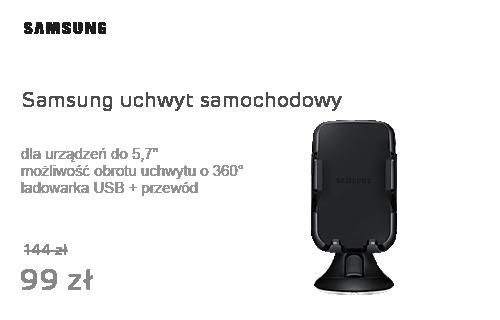 """Samsung Zestaw Uchwyt do 5,7""""+ Ładowarka Samochodowa USB"""