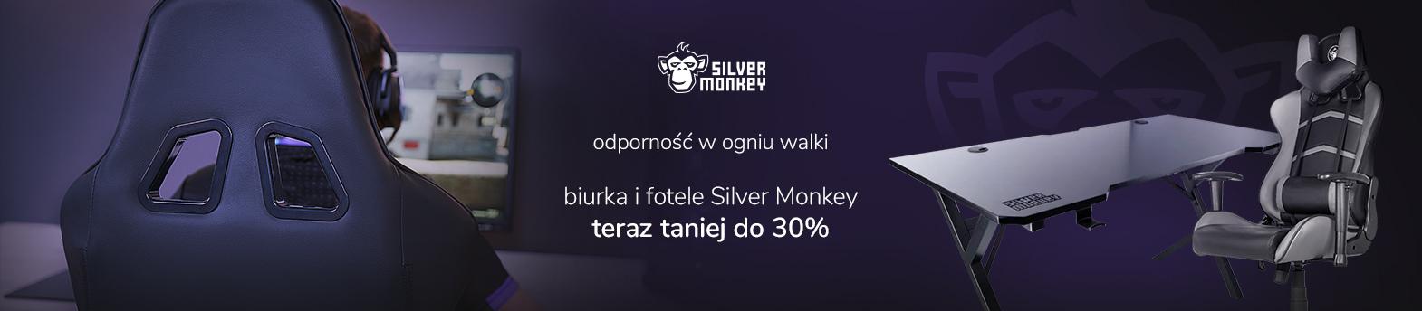 Silver Monkey do 30% taniej