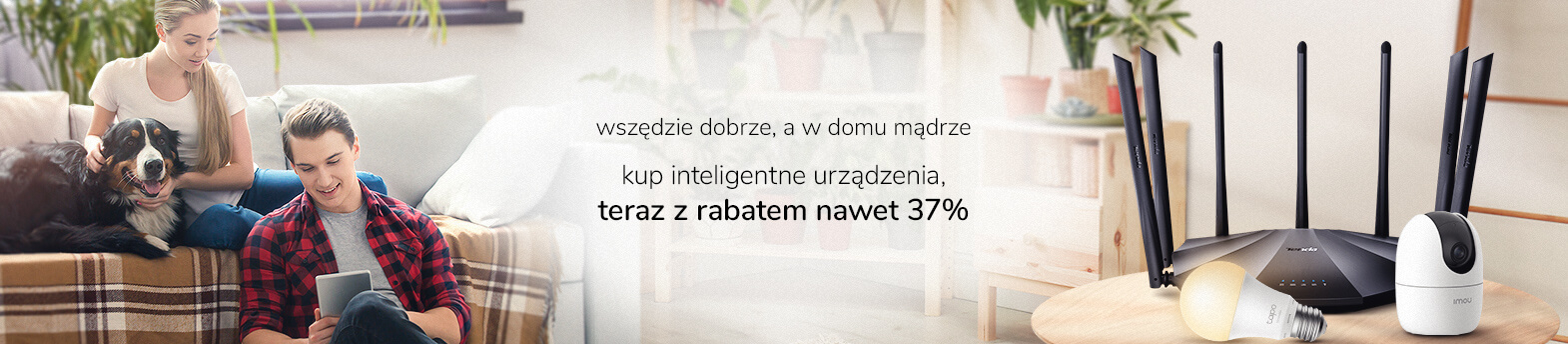 Smart Home z rabatem do 37%