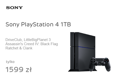 Sony PlayStation 4 1TB +DC +ACBF +R&C +LBP