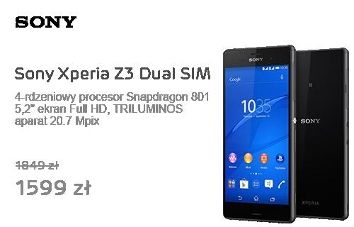 Sony Xperia Z3 Dual SIM czarny