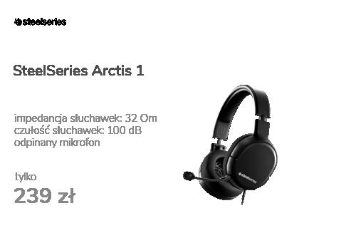 SteelSeries Arctis 1 Czarne