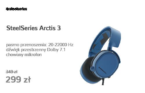 SteelSeries Arctis 3 Niebieskie