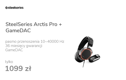 SteelSeries Arctis Pro + GameDAC