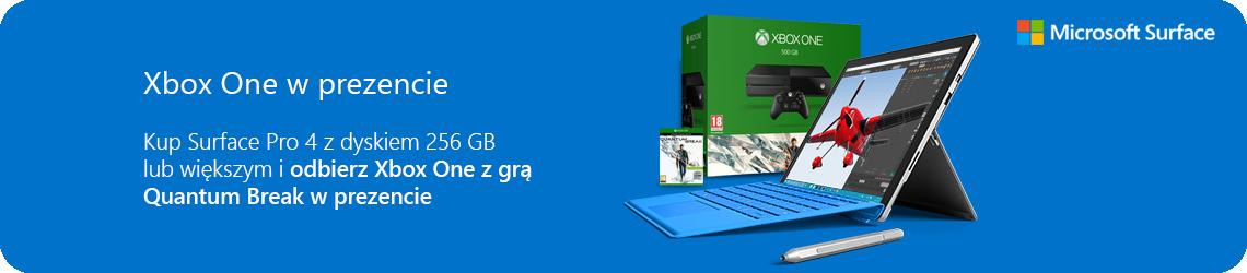 Kup Surface Pro 4 + Xbox One w prezencie