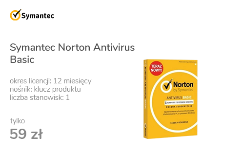 Symantec Norton Antivirus Basic 1st (12m.)