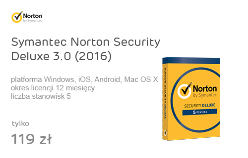 Symantec Norton Security Deluxe 3.0 (2016) 5st. (12m.)