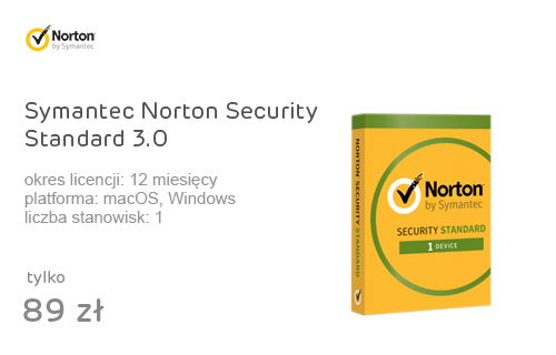 Symantec Norton Security Standard 3.0 (12m.) 1st.