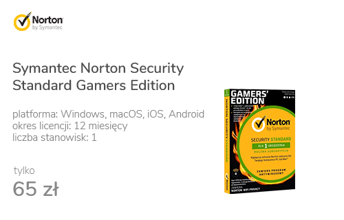 Symantec Norton Security Standard Gamers Edition 1st.(12m.)