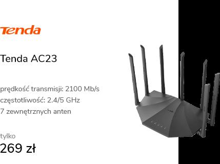 Tenda AC23 (2100Mb/s a/b/g/n/ac) DualBand
