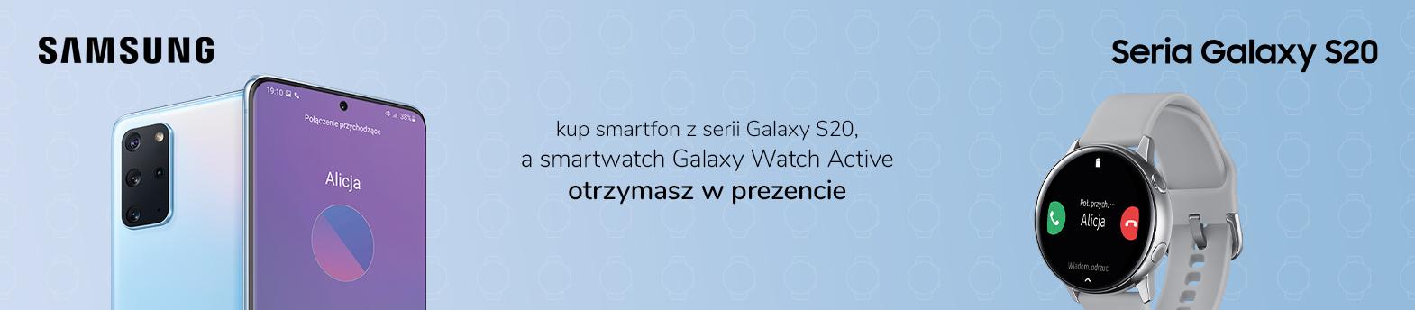 Galaxy Watch w prezencie