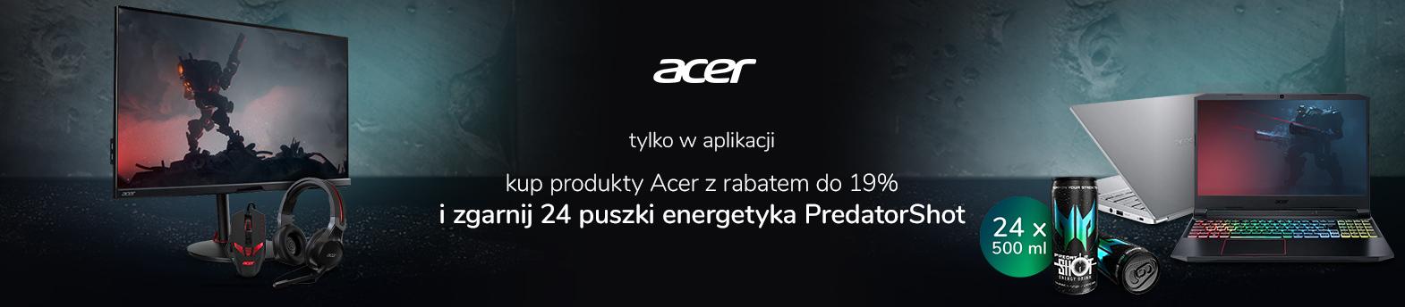 tylko w aplikacji – promocja Acer