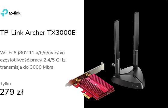 TP-Link Archer TX3000E (802.11b/g/n/ax 3000Mb/s)
