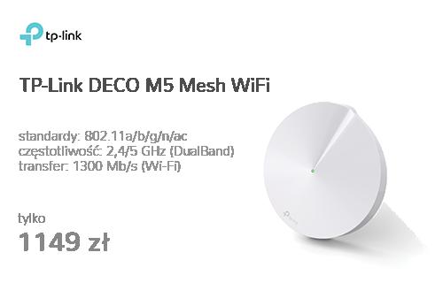 TP-Link DECO M5 Mesh WiFi (1300Mb/s a/b/g/n/ac) 3szt.