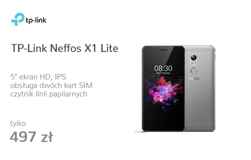 TP-Link Neffos X1 Lite szary