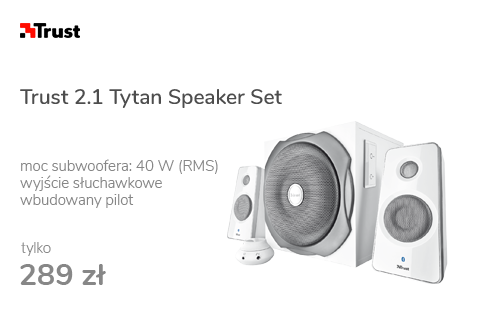 Trust 2.1 Tytan Speaker Set (biały)
