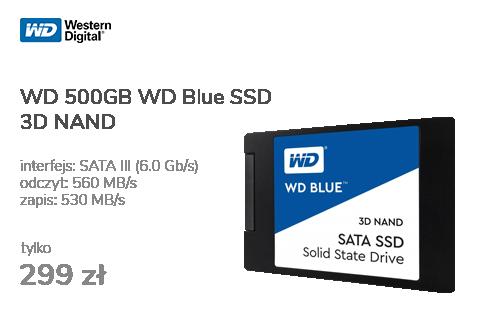 WD 500GB WD Blue SSD 3D NAND
